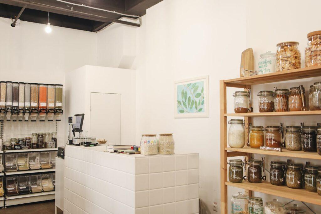 Eco-friendly store
